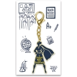 I Teach What's Your Superpower? Hard Enamel Key Chain from Primitives by Kathy