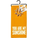 Dish Towel & Cookie Cutter Set (You Are My Sunshine) from Primitives by Kathy