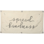 Spread Kindness Decorative Canvas Wall Banner 40x20 from Primitives by Kathy