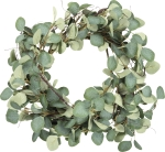 Artificial Eucalyptus Decorative Wreath 23 Inch from Primitives by Kathy