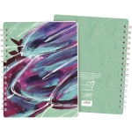 Let Your Dreams Be Your Wings Spiral Notebook (120 Pages) from Primitives by Kathy