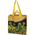 Sunflower Field Design Collect Beautiful Moments Market Tote Bag from Primitives by Kathy
