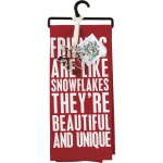 Friends Are Like Snowflakes Dish Towel & Cookie Cutter Set from Primitives by Kathy