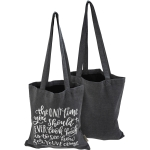 The Only Time You Should Ever Look Back Daily Cotton Tote Bag from Primitives by Kathy