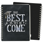 The Best Is Yet To Come Spiral Notebook (120 Pages) from Primitives by Kathy