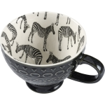 Zebra Print Design Stoneware Coffee Mug 11 Oz from Primitives by Kathy
