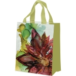 Colorful Poinsettia Design The Happiest Season Of All Daily Tote Bag from Primitives by Kathy