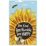 Bumblebee Design Bee Kind Bee Humble Bee Happy Enamel Pin 1x1 from Primitives by Kathy