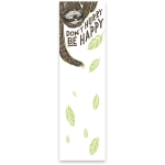 Sloth Design Don't Hurry Be Happy Magnetic Paper List Notepad (60 Pages) from Primitives by Kathy