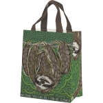 Sloth Design Anything You Can Do I Can Do Slower Daily Tote Bag from Primitives by Kathy