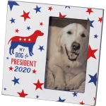My Dog For President 2020 Photo Picture Frame (Holds 3x5 Photo) from Primitives by Kathy