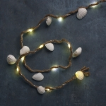 Small Seashell Decorative String Lights 37 Inch (Battery Operated) from Primitives by Kathy