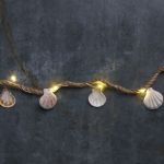 Large Seashells Decorative String Lights 35 Inch (Battery Operated) from Primitives by Kathy