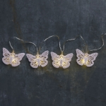 Butterfly Decorative String Lights 56 Inch (Battery Operated) from Primitives by Kathy