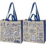Dog Lover World's Best Dog Park Market Tote Bag from Primitives by Kathy