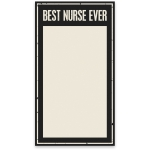 Large Best Nurse Ever Paper Notepad (60 Pages) from Primitives by Kathy