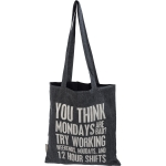 Nurse Themed You Think Mondays Are Bad Try Working Weekends Canvas Tote Bag from Primitives by Kathy
