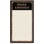 Merry Christmas Large Magnetic Paper List Notepad (60 Pages) from Primitives by Kathy