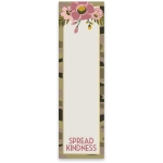 Soft Floral Design Spread Kindness Magnetic Paper List Notepad (60 Pages) from Primitives by Kathy