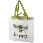 Bumblebee Design Bee Happy Market Tote Bag from Primitives by Kathy
