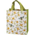 Bumblebee & Floral Print Design Double Sided Daily Tote Bag from Primitives by Kathy