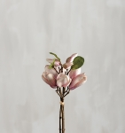 Artificial Ligtht Pink Magnolia Bouquet 11 Inch from Primitives by Kathy