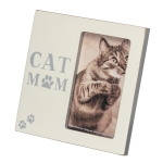Cat Lover Cat Mom Decorative Photo Picture Frame (Holds 3x5 Photo) from Primitives by Kathy