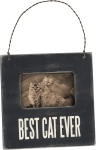 Cat Lover Best Cat Ever Mini Wooden Photo Picture Frame (Holds 3x2 Photo) from Primitives by Kathy