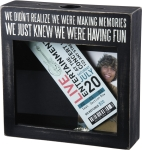 We Didn't Realize We Were Making Memories Decorative Wooden Memory Box Sign 10x10 from Primitives by Kathy