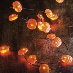 Pumpkin Wire Lights String Battery Operated from Primitives by Kathy