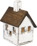 Manor Design Lighted Wooden Birdhouse from Primitives by Kathy