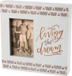 Living The Dream Photo Picture Box Frame Primitives by Kathy