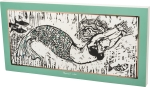 Mermaid Vibes Decorative Wooden Box Sign 30x15 from Primitives by Kathy