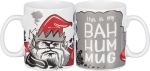 This Is My Bah Hum Mug Double Sided Stoneware Coffee Mug 20 Oz from Primitives by Kathy