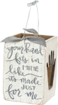 Your Hand Is Made Just For Me Decorative Candle Box from Primitives by Kathy