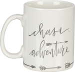 Chase Adventure Stoneware Coffee Mug 20 Oz from Primitives by Kathy