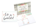 Life Is Beautiful It's A Good Day For A Good Day Sticky Note Set (480 Sticky Notes) from Primitives by Kathy