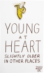 Young At Heart Banana Enamel Pin With Greeting Card from Primitives by Kathy