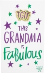 TGIF This Grandma Is Fabulous Enamel Pin With Greeting Card from Primitives by Kathy