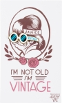 I'm Not Old I'm Vintage Enamel Pin With Greeting Card from Primitives by Kathy