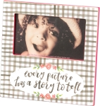 Every Picture Has A Story To Tell Decorative Photo Picture Frame (Holds 5x3 Photo) from Primitives by Kathy