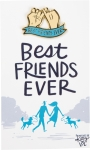 Best Friends Ever Enamel Pin With Card from Primitives by Kathy