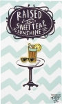 Raised On Sweet Tea And Sunshine Enamel Pin With Greeting Card from Primitives by Kathy