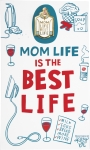 Mom Life Is The Best Life Enamel Pin With Greeting Card from Primitives by Kathy