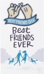 Best Friends Ever Nylon Threaded Patch from Primitives by Kathy