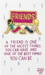 A Friend Nicest Thing You Can Have Nylon Threaded Patch from Primitives by Kathy