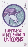 Happiness Is Believing In Unicorns Nylon Threaded Patch from Primitives by Kathy
