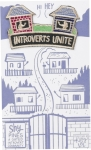 Introverts Unite Nylon Threaded Patch from Primitives by Kathy