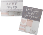 Live Happy Dream Big Spread Love Sticky Note Set (480 Sticky Notes) from Primitives by Kathy