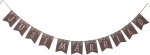 Just Married Cotton Pennant Banner 99 Inch from Primitives by Kathy
